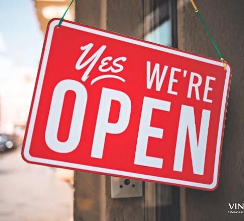 ! Máme otvorené !